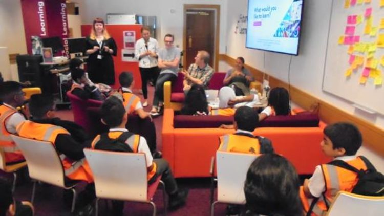 7th July 2016:  Code Club visit the British Library