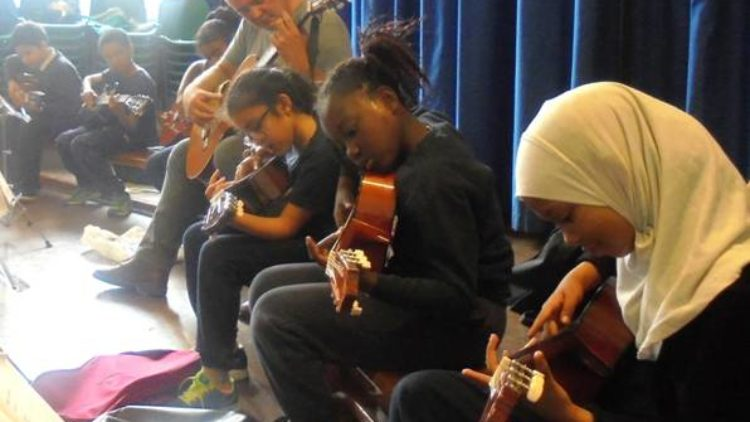 12th July 2016:  Guitar performance