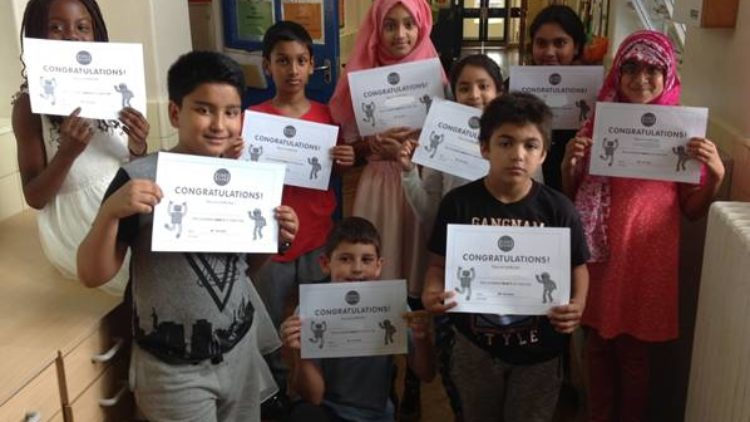 11th July 2016:  Code Club achievements