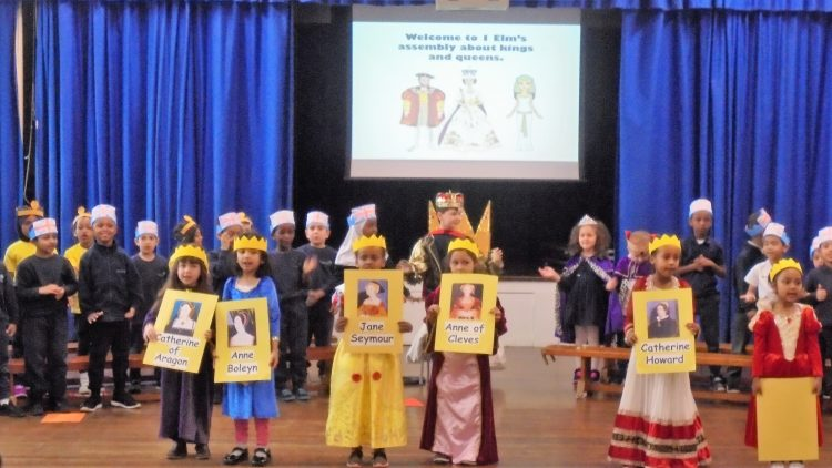 Kings and Queens – 1 Elm class assembly