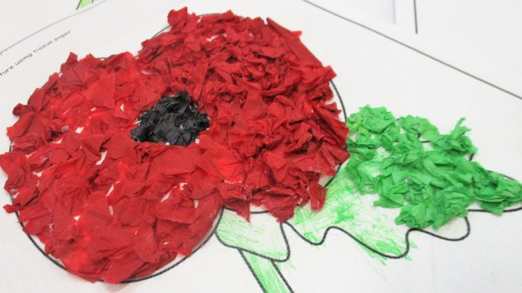 Remembrance Sunday – Year 1