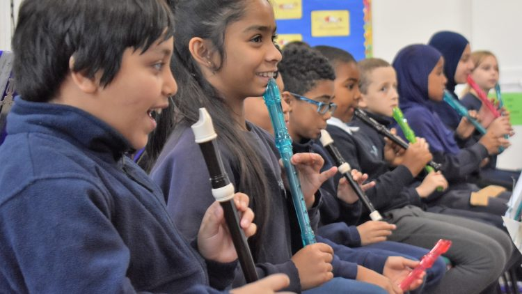 Year 4 and 5 music performances