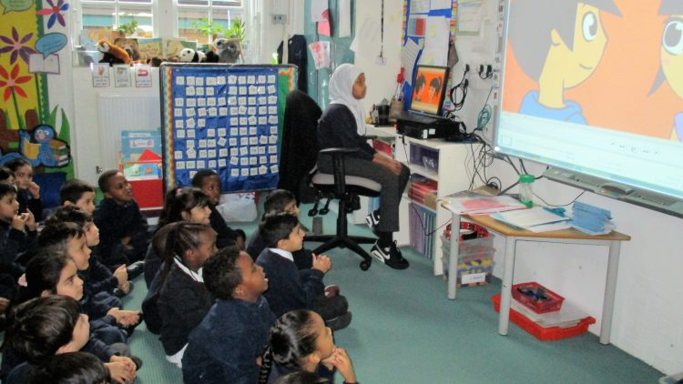 Online safety in Year 1