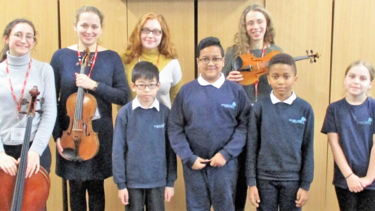 Composing with the Echéa Quartet  – Year 5