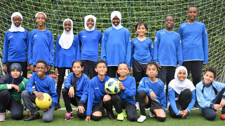 Year 5 and 6 football competition