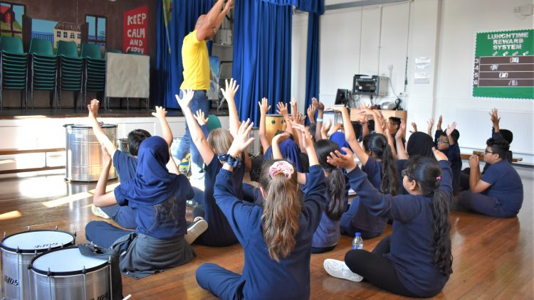 Brazilian music workshop – Year 6