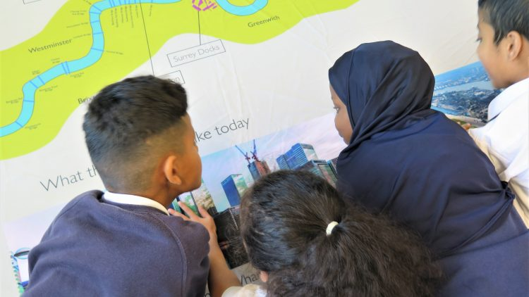 Year 4 'Port of London' workshop