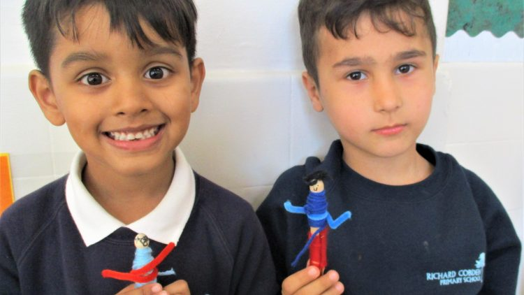 Year 2 peg dolls