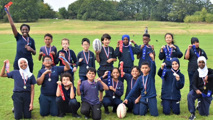Tag rugby finalists!