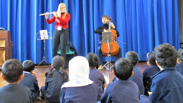 Flute and cello workshop – Year 1