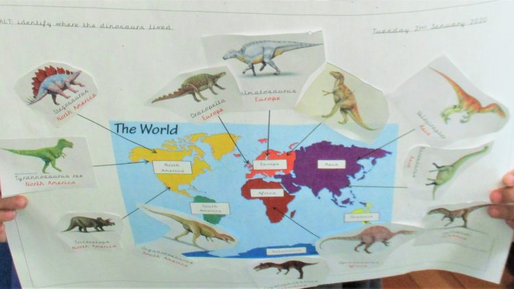 Dinosaurs – 1 Elm