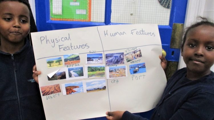 Around the World – Year 2 geography