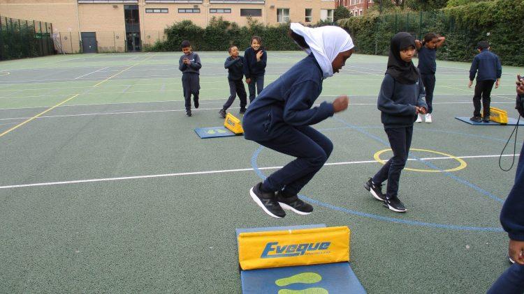 Year 4 Athletics Skills