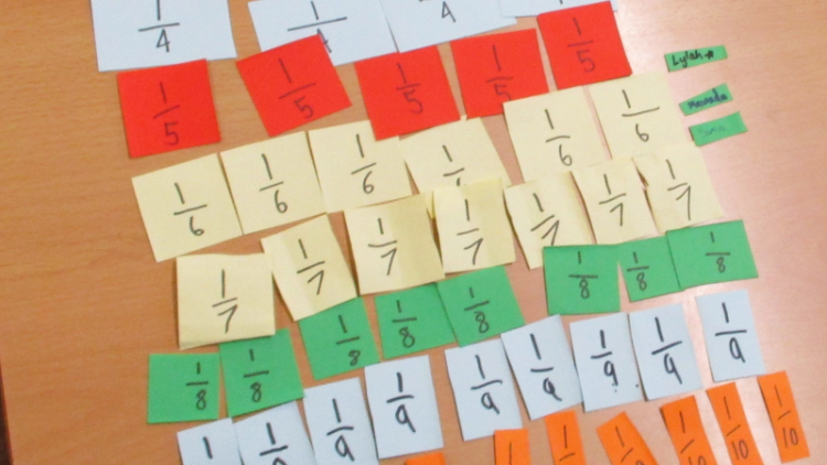 Year 6- equivalent fractions