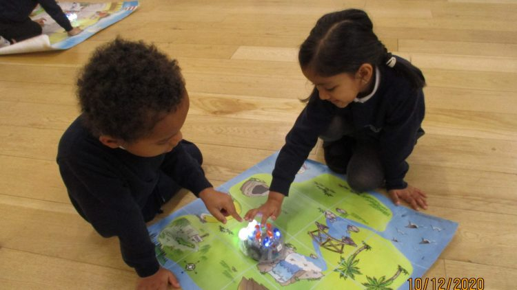 Beebots in Year 1