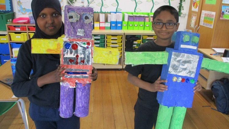 Year 4 – Robot Invasion