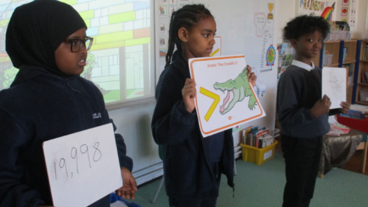 Year 4: Comparing Numbers